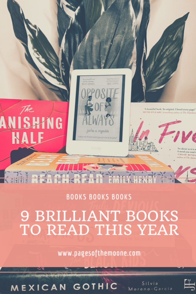 Books To Read by Jodie Moone (Photo created using CANVA)